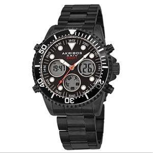 Akribos XXIV Diver Bezel Smart Watch
